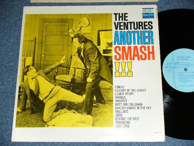 """画像1: ANOTHER SMASH    """"TWO MEN with VIOLIN COVER"""" LIGHT BLUE  LABEL"""