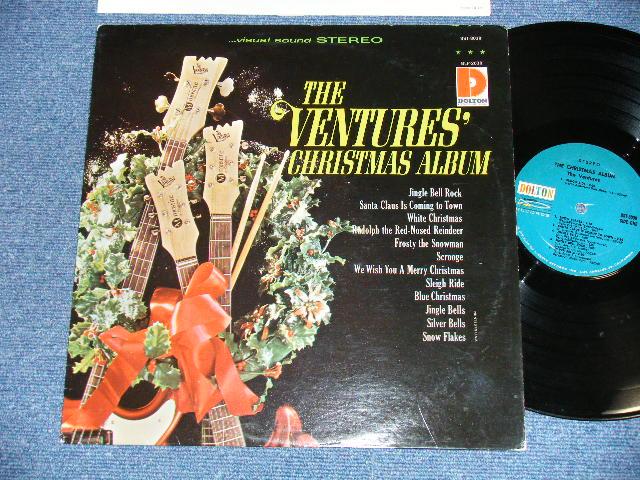 画像1: THE CHRISTMAS ALBUM       Blue With Black  Print Label  STEREO