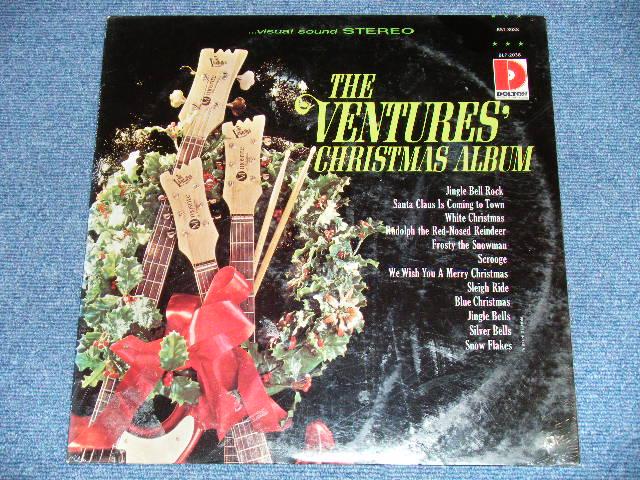 """画像1: THE CHRISTMAS ALBUM      1968 US AMERICA Version """"''4' Credit at Back Cover's RIGHT BOTTOM"""" STEREO """"BRAND NEW SEALED """" LP"""