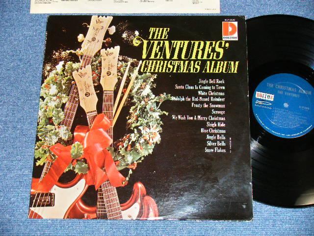 """画像1: THE CHRISTMAS ALBUM      1965 US AMERICA Version  """"'DARK BLUE with SILVER PRINT LABEL"""" MONO  LP"""
