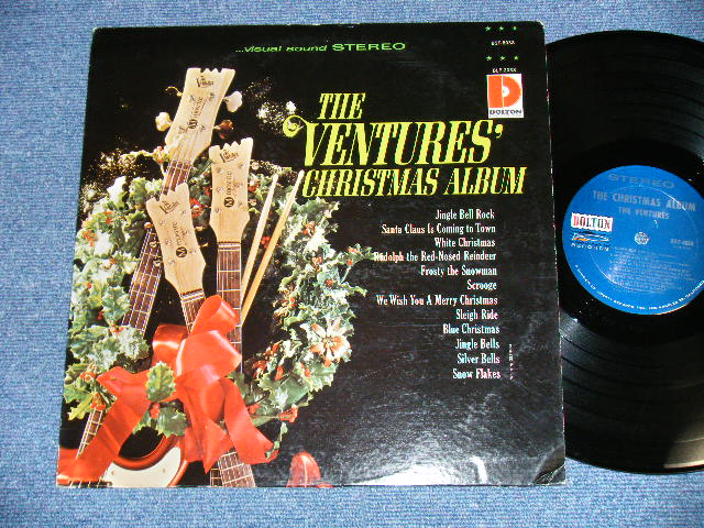画像1: THE CHRISTMAS ALBUM       1965 Version DARK BLUE with SILVER PRINT Label  STEREO