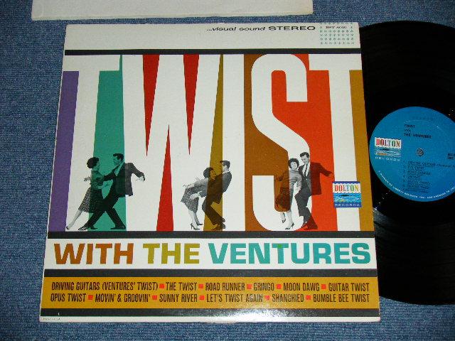 画像1: TWIST WITH THE VENTURES : BLUE with BLACK Print Label : Matrix Number A) BST-8010-1A-Side 1 / B) BST-8010-1A-Side 2
