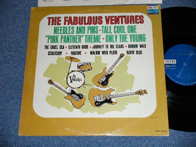 画像1: THE FABULOUS VENTURES   DARK Blue With SILVER Print Label   Maybe...1st Press Label