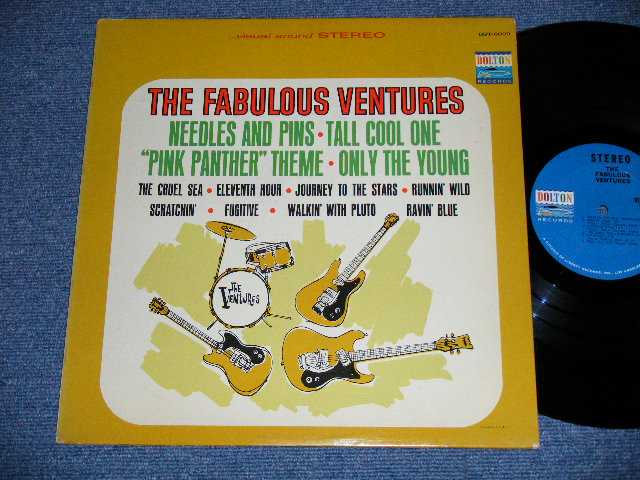 画像1: THE FABULOUS VENTURES   Blue With BLACK Print Label STEREO