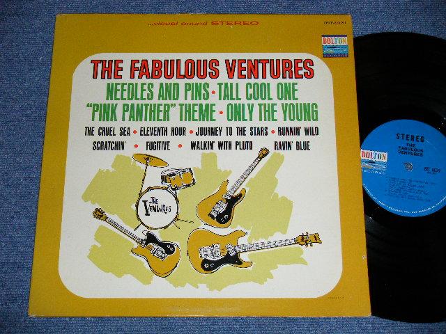 画像1: THE FABULOUS VENTURES   Blue With BLACK Print Label STEREO