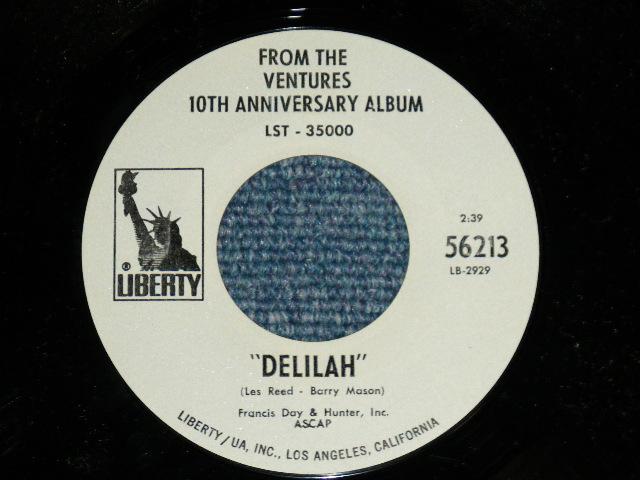 画像1: DELILAH : FROM THE VENTURES 10TH ANNIVERSARY ALBUM  (Promo Only Same Flip : Mono-Stereo )