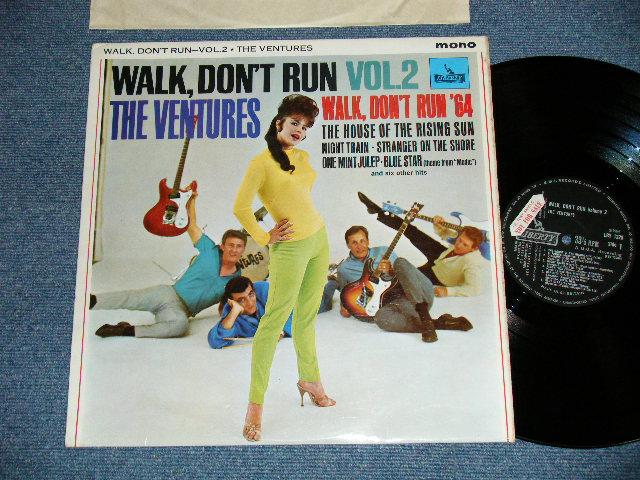 """画像1: WALK, DON'T RUN VOL.2   UK ENGLAND ORIGINAL with !PROMO"""" SEAL on Label LP"""
