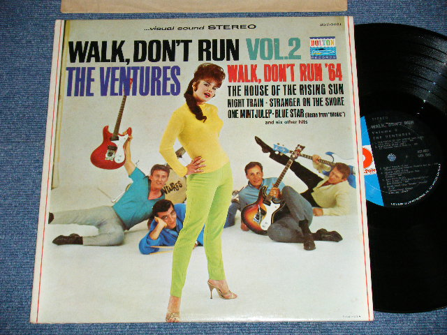 "画像1: WALK DON'T RUN VOL.2 : 2nd press Version NON SWEAT SHIRT  1967 Version US AMERICA  3rd press Version  ""D Mark  Label"" STEREO"