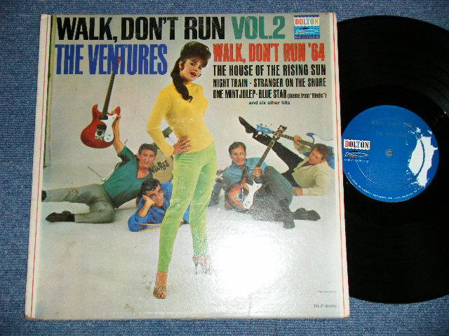 """画像1: WALK DON'T RUN VOL.2 : SWEAT SHIRT Version  1964 US AMERICA ORIGINAL """"DARK BLUE with SILVER PRINT Label""""  MONO"""