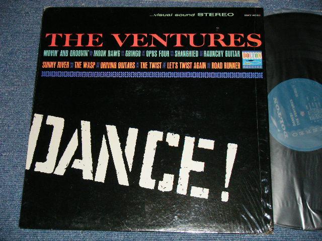 """画像1: DANCE!   """"DANCE ! """" CREDIT Labe  TURQUOISE Moss Green Label"""