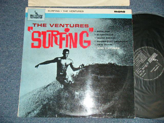 """画像1: """"SURFING"""" Late1960's """"SMALL MONO Logo"""" UK ENGLAND ORIGINAL MONO"""