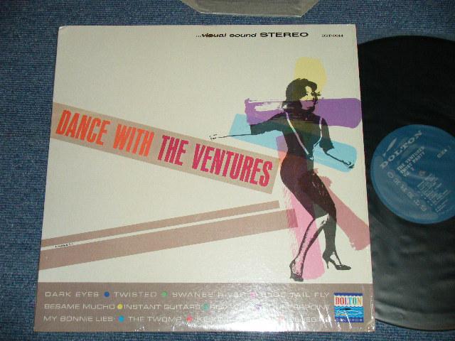 画像1: GOING TO THE VENTURES DANCE PARTY ; 1963? TURQUOISE GREEN Label