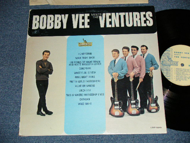 画像1: BOBBY VEE MEETS THE VENTURES    PROMO AUDITION Label MONO version