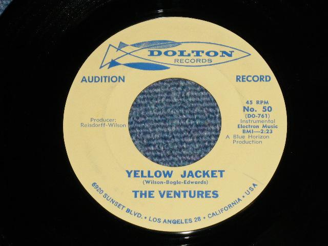 画像1: YELLOW JACKET / GENESIS    1962 ORIGINAL AUDITION Label PROMO