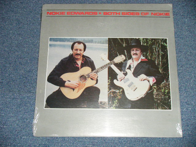 画像1: NOKIE EDWARDS -  BOTH SIDES OF NOKIE   1988  US Original Sealed LP