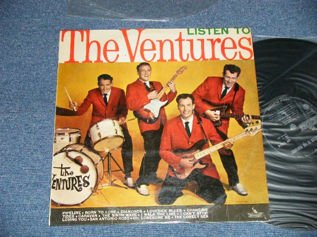 画像1:  LISTEN TO THE VENTURES   ITALY ORIGINAL