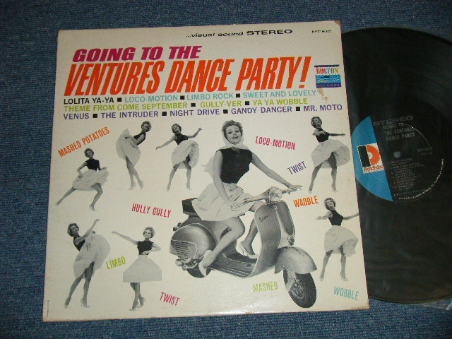 "画像1: GOING TO THE VENTURES DANCE PARTY Late 1966-1967 Version  ""D"" Mark Label"