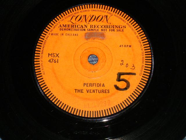 """画像1: PERFIDIA / NO TRESPASSING    1961 UK ENGLAND """"PROMO ONLY ONE SIDED"""""""