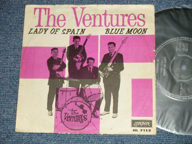 画像1:  LADY OF SPAIN : BLUE MOON    1961 DENMARK Pressings with Picture Sleeve