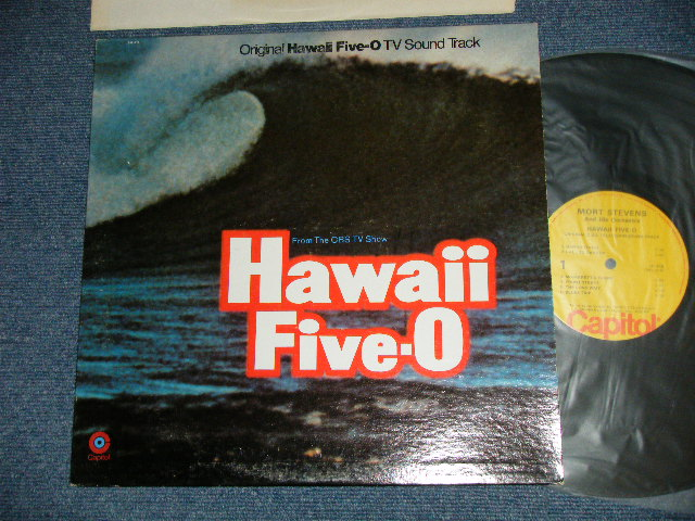 画像1: ost TV Sound Track (Prod.by MEL TAYLOR of THE VENTURES ) - HAWAII FIVE-O  / 1970's US AMERICA REISSUE Used LP