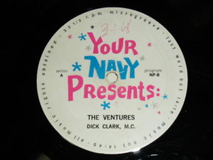 画像1: YOUR NAVY PRESENTS : with DICK CLARK M.C.       US NAVY  RADIO SHOW
