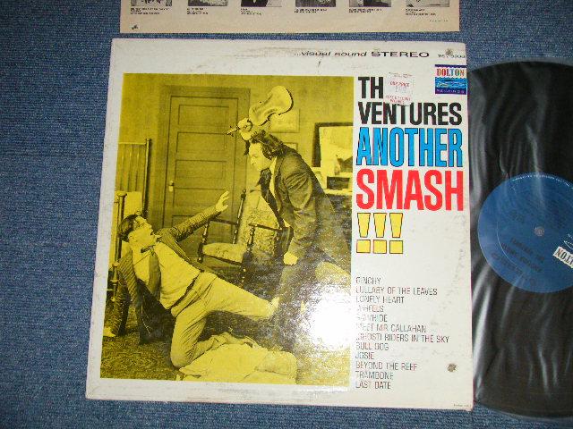 """画像1: ANOTHER SMASH    """"TWO MEN with VIOLIN COVER"""" DARK BLUE with BLACK PRINT LABEL"""