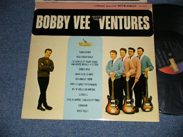画像1: BOBBY VEE MEETS THE VENTURES    Stereo