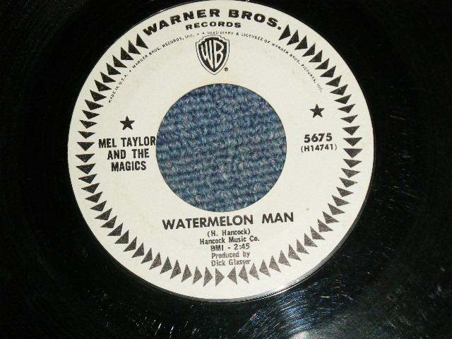 画像1: MEL TAYLOR - WATERMELON MAN / SKOKIAAN : US ORIGINAL WHITE LABEKL PROMO