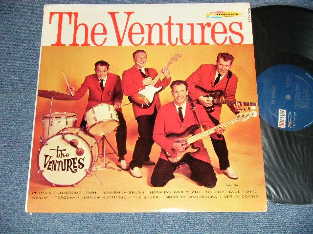 画像1: THE VENTURES     DARK BLUE With SILVER PRINT LABEL  1962  Version