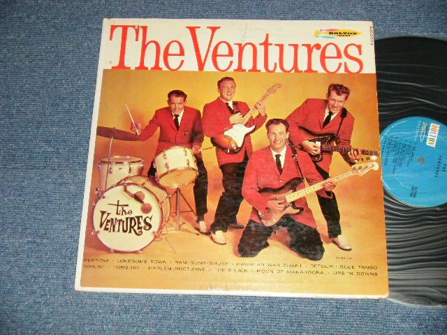 画像1: THE VENTURES       BLUE With BLACK PRINT LABEL  1964  Version