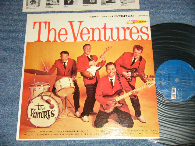 画像1: THE VENTURES     DARK BLUE with BLACK LABEL 1963 Version
