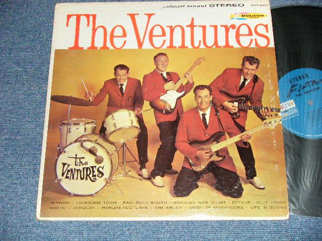 画像1: THE VENTURES     BLUE with BLACK LABEL 1965 Version