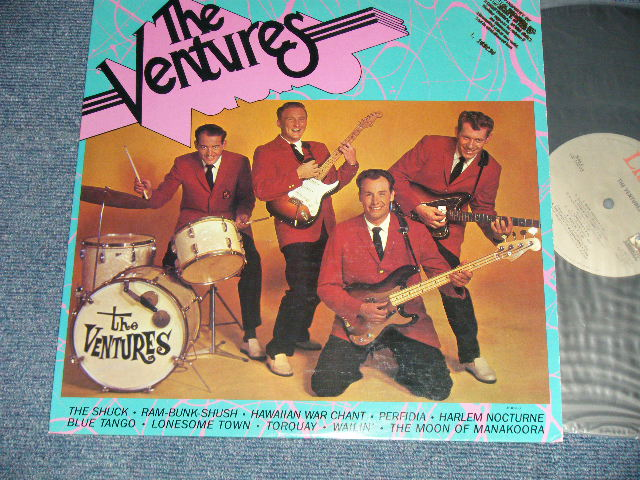 "画像1: THE VENTURES     1983 REISSUE 10 Tracks Version ""PROMO"" Copy"