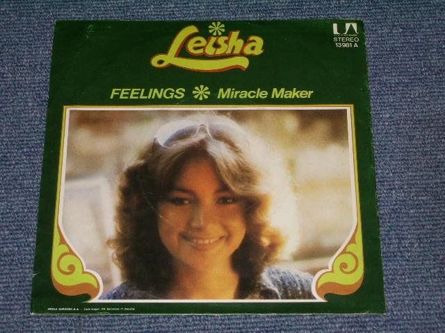 画像1: LEISHA - FEELINGS / MIRACLE MAKER   :  1975 SPAIN ORIGINAL  With PICTURE SLEEVE