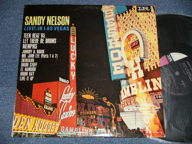 画像1: SANDY NELSON (GERRY JERRY McGEE) - LIVE IN LAS VEGAS