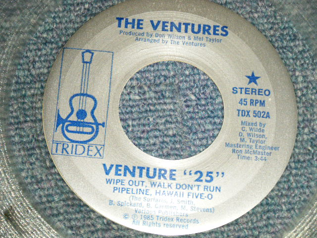 "画像1: A) VENTURES 25 B) BLUE DOWN   :  1981 US AMERICA ORIGINAL ""CRYSTAL CLEAR WAX"""