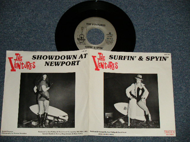 画像1: A) SURFIN' & SPYIN' B) SHOWDOWN AT NEWPORT   :  1981 US AMERICA ORIGINAL