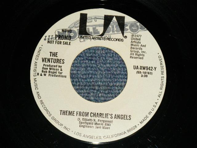 画像1: THEME FROM CHARLIE'S ANGEL / THEME FROM CHARLIE'S ANGEL  Promo Only Same Flip Mono/Stereo & YELLOW/WHITE VERSION Label