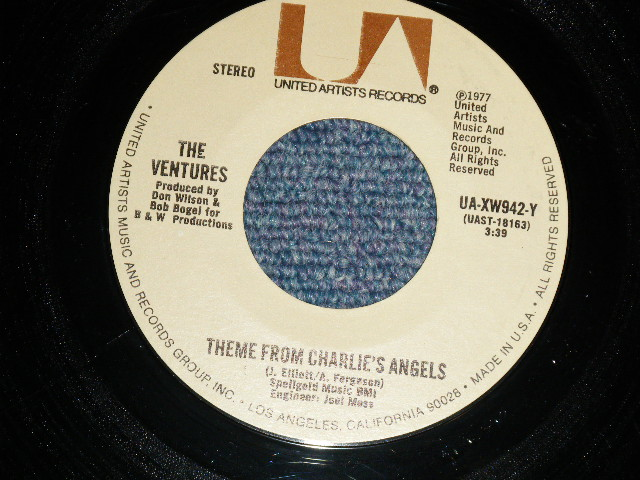 画像1: THEME FROM CHARLIE'S ANGEL / THEME FROM STARSKY & HUTCH