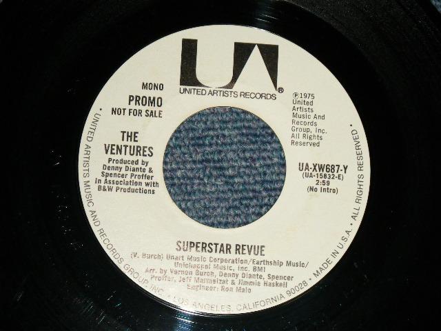 画像1:  SUPERSTAR REVUE  2:59 SHORT Version  A) MONO / B) STEREO   WHITE / YELLOW  Label