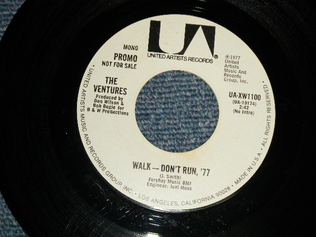画像1: WALK DON'T RUN '77 / WALK DON'T RUN '77   Promo Only Same Flip Mono/Stereo & YELLOW/WHITE VERSION Label