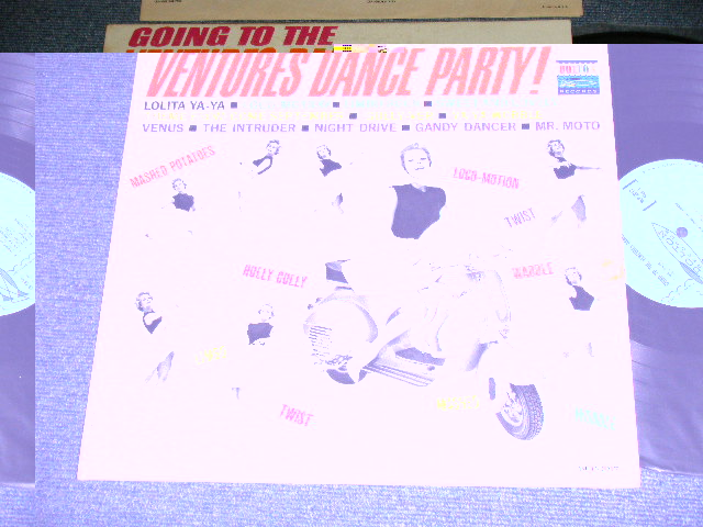 画像1: GOING TO THE VENTURES DANCE PARTY :  LIGHT BLUE LABEL  MONO