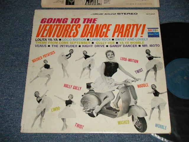 画像1: GOING TO THE VENTURES DANCE PARTY    1962 TURQUOISE GREEN Label