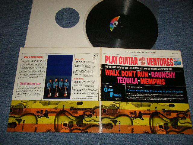 画像1: PLAY GUITAR WITH THE VENTURES   LIBERTY Label  (1969 Version)