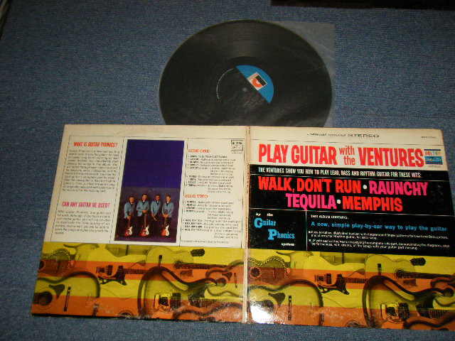 "画像1: PLAY GUITAR WITH THE VENTURES   ""D"" Mark Label"