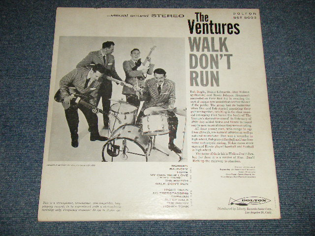 画像1: WALK,DON'T RUN    GREEN LABEL With PHOTO ON BACK COVER