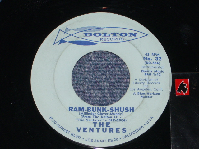 画像1: RAM-BUNK-SHUSH / LONELY HEART  Light Blue Label