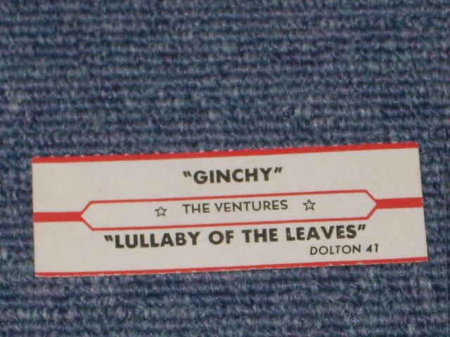 画像1:  LULLABY OF THE LEAVES / GINCHY   JUKEBOX STRIPE