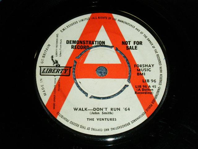 画像1:  WALK, DON'T RUN '64 / THE CRUEL SEA    UK  WHITE LABEL PROMO