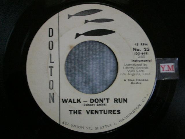 画像1: WALK-DON'T RUN / HOME 1st Press WHITE LABEL PROMO